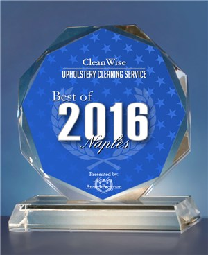 2016 BEST OF NAPLES AWARDS - UPHOLSTERY CLEANING SERVICE (1)